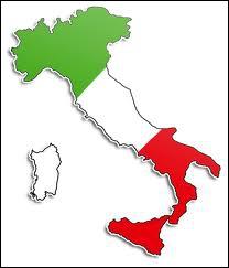 Quelles sont les couleurs du drapeau italien ?