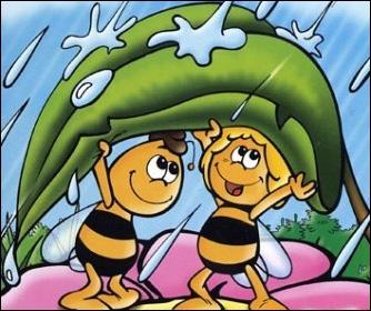 Comment s'appelle le meilleur ami de Maya l'abeille ?