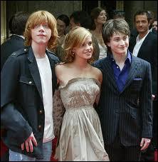 Dans le film Harry Potter avec qui a-t-il des enfants ?