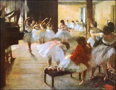 Qui a peint   L'école de danse  ?