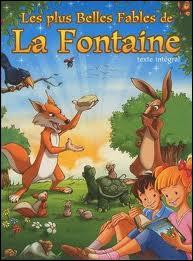 Quelle est cette fable de La Fontaine dont la morale est 'vous chantiez j'en suis fort aise, et bien dansez maintenant' ?