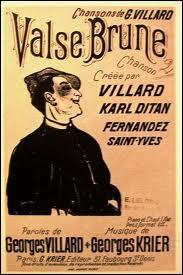Interprétée entre autre par Lucienne Delyle, Juliette Greco, complètez cette chanson : C'est la valse brune ...