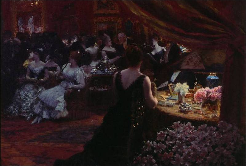 Le salon de la princesse Mathilde
