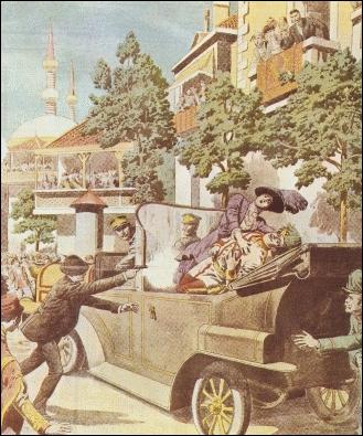 Quand a eu lieu l'assassinat de l'archiduc François-Ferdinand à Sarajevo ?
