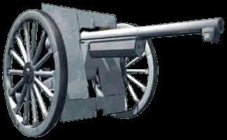 Quel est le plus réputé des canons de l'armée française ?