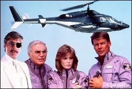 La même année, une autre série nous propose un hélicoptère militaire supersonique. Comment s'appelle la série 'Airwolf' en français ?