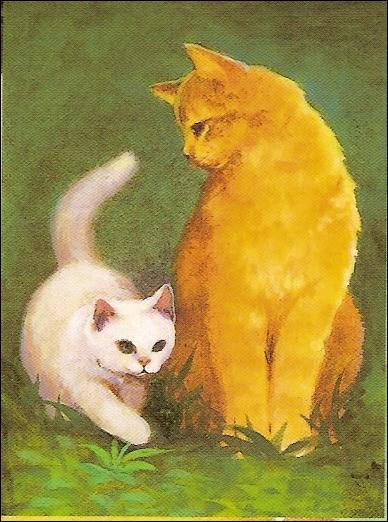 Pour commencer, qui sont les deux chats sur l'image ?