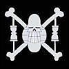 A qui appartient cet emblème de pirate ?