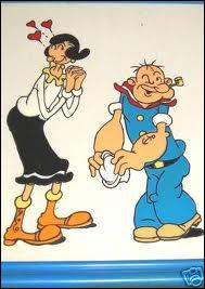Voici Popeye, l'amour de :