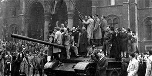 Quelles armées sont intervenues en Hongrie en 1956 ?