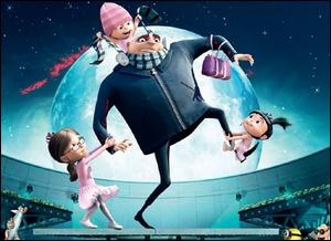 Gru, un être méprisable, prépare le plus grand cambriolage de tous les temps grâce à ses fidèles minions : voler la Lune !