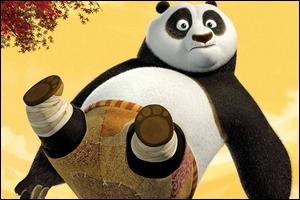 L'histoire d'un panda fan de kung fu.