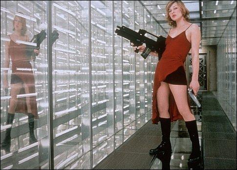 Resident Evil : comment s'appelle la femme qui se réveille nue dans une salle de bains ?
