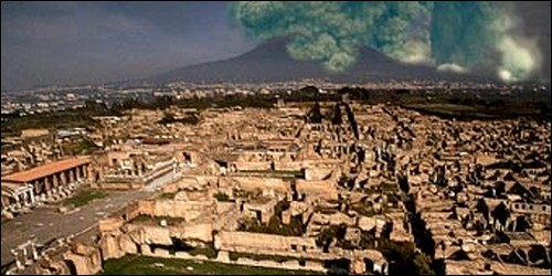 Quel célèbre ville romaine a disparu sous les cendres du Vésuve ?