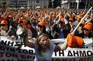 Que réclame le peuple grec à son gouvernement ?