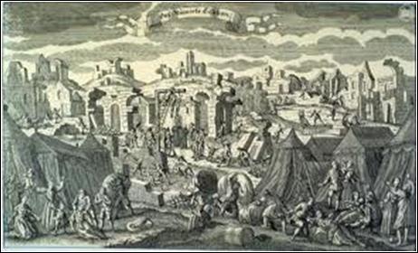 1er novembre 1755 : violent séisme dans une capitale européenne. Plusieurs raz-de-marée suivent le séisme ainsi que de nombreux incendies. Le bilan de la catastrophe est lourd : 60 000 morts. Quelle est cette ville ?
