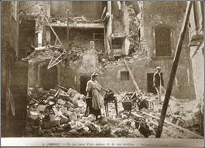 Le 11 juin 1909 à 21 h 15, un violent séisme frappe la Provence. D'une magnitude de 6, 2 sur l'échelle de Richter, il fait 46 victimes et 250 blessés. Il a eu lieu à :