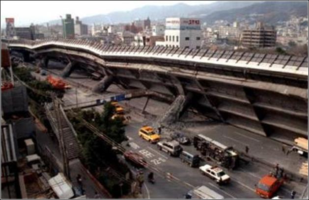 17 janvier 1995, une ville japonaise est frappée par un séisme de 7, 3 sur l'échelle de Richter. Cette région était jusqu'alors considérée comme présentant peu de risques. Cette ville est :