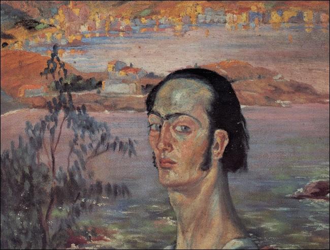 """""""Autoportrait avec cou de Raphaël"""" est de..."""