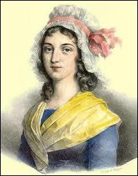 Charlotte Corday assassina Marat dans sa baignoire car elle le tenait pour responsable de la chute des Girondins. De qui était-elle une descendante ?