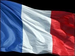 Que représentent le bleu et le rouge sur le drapeau français ?