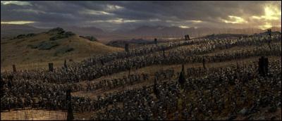 D'après Aragorn, combien d'uruk-hais l'armée de l'Isengard compte-t-elle ?