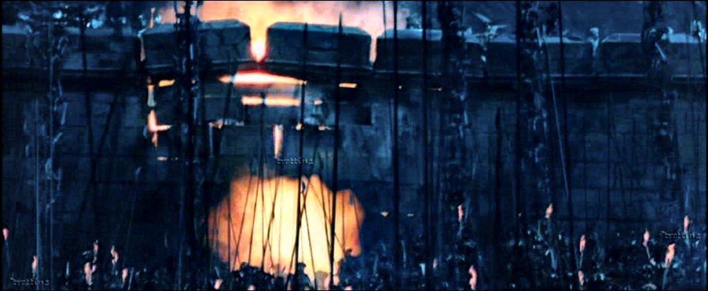 Combien de mines sont posées pour détruire la muraille ?