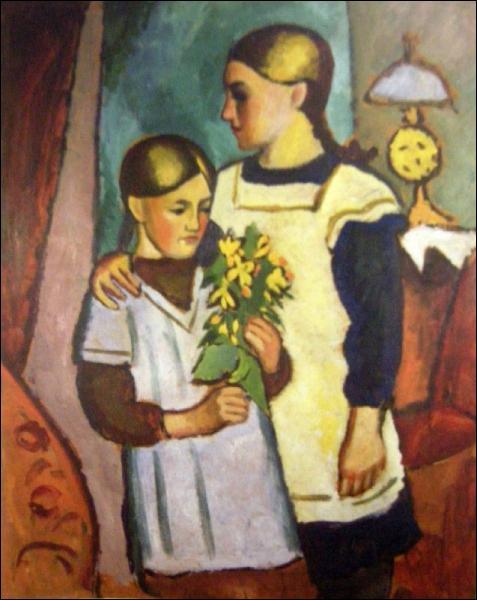 Qui a peint Deux soeurs ?