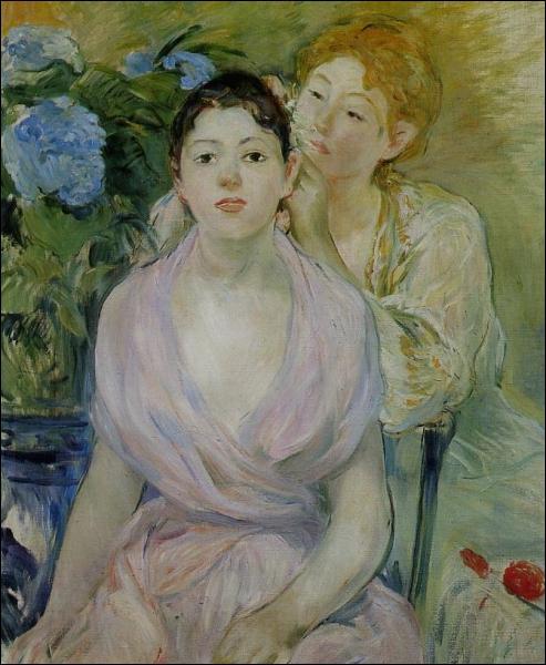Qui a peint L'hortensia et les deux soeurs ?