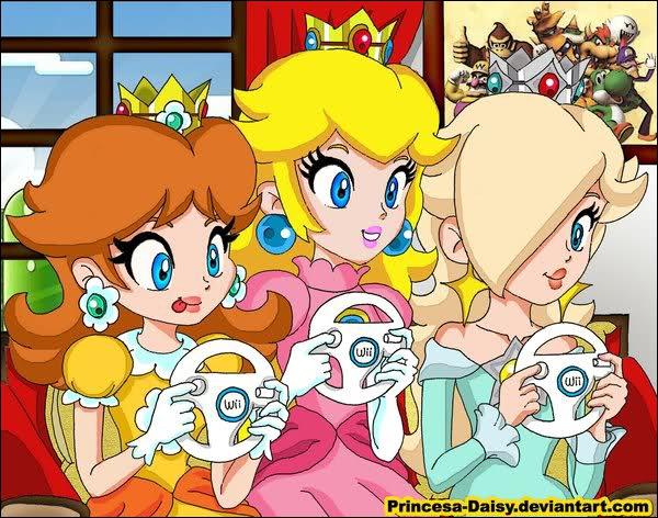 A partir de quel Mario Kart la belle Princesse Peach a-t-elle eu une queue de cheval ?