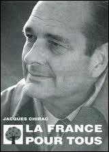 Comment Jacques Chirac annonce-t-il sa candidature à l'élection présidentielle de 1995 ?