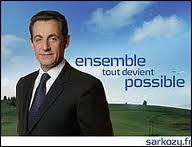 Comment Nicolas Sarkozy annonce-t-il sa candidature à l'élection présidentielle en 2007 ?