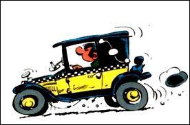 Gaston trouve qu'elle va très bien sa voiture. De quelle marque est-elle ?