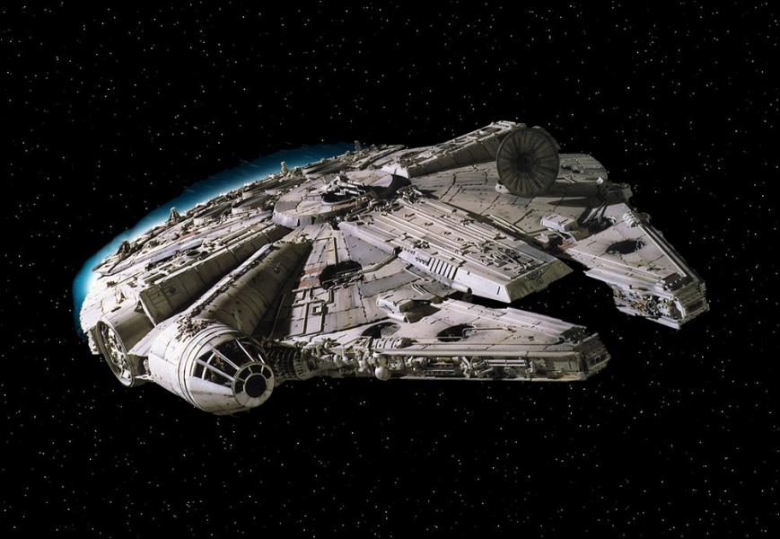 Quel est le nom du fameux vaisseau appartenant à Han Solo ?