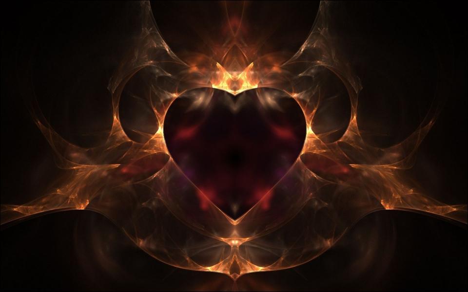Ce coeur se prend pour un roi. D'ailleurs, il est de couleur...