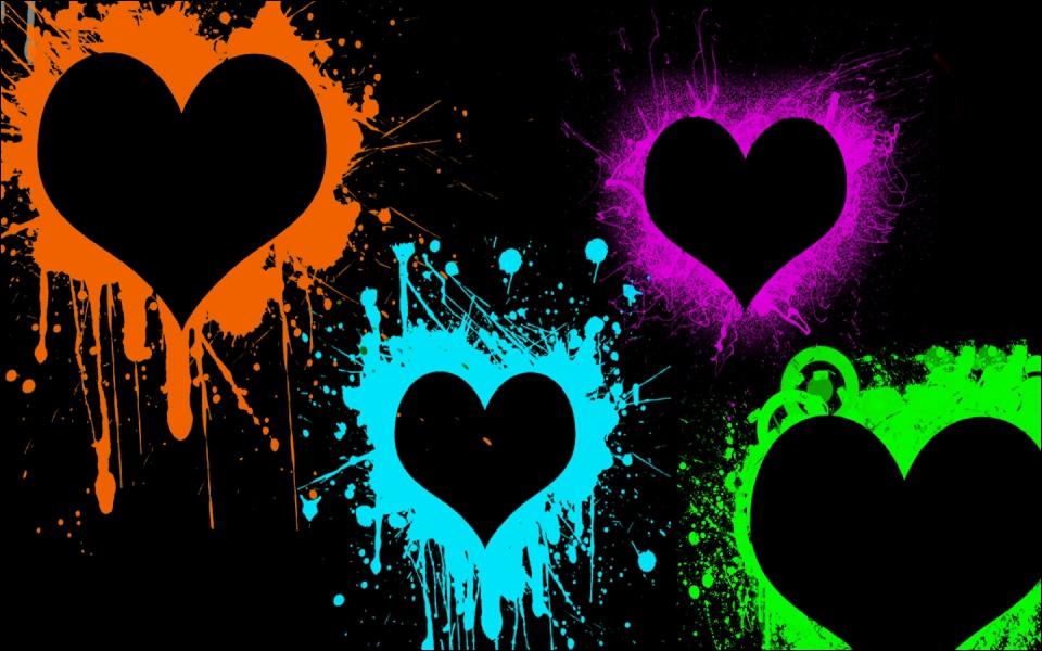 Le troisième coeur en partant de la gauche est...