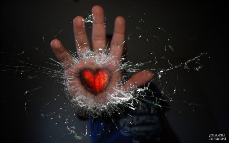 Ce coeur est de couleur...