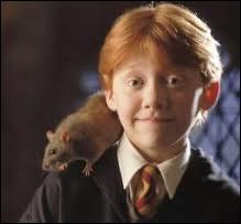 Comment s'appelle le rat de Ron ?