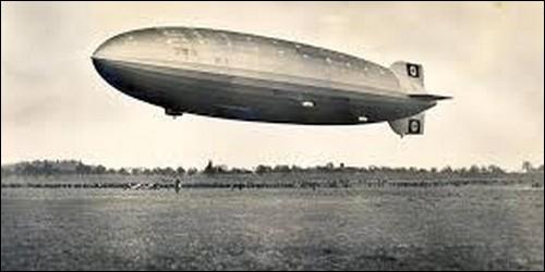Qu'appelait-on un zeppelin ?