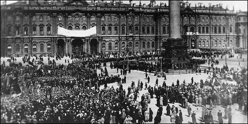 Que s'est-il passé en Russie en 1917 ?