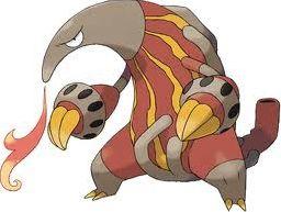 Les Pokémon de type feu