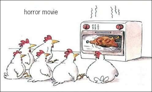 Pour les poulets, c'est un film ...