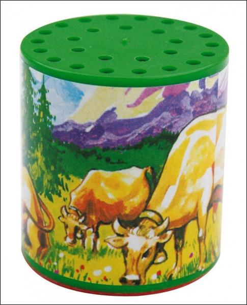 Comment appelle-t-on également la boîte à vache ?