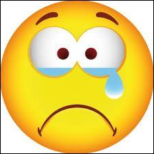 Le pauvre, il pleure :