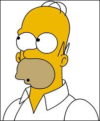Que s'exclame Homer pour exprimer son étonnement ?