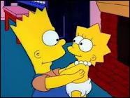 Quel a été le premier mot prononcé par Lisa lorsqu'elle était bébé , à la grande joie de son frère ?