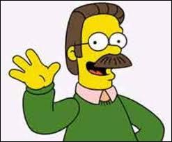 Avec quelles paroles Ned Flanders salue-t-il son cher voisin Homer Simpson ?