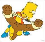 Quelle est l'insulte préférée de Bart ?