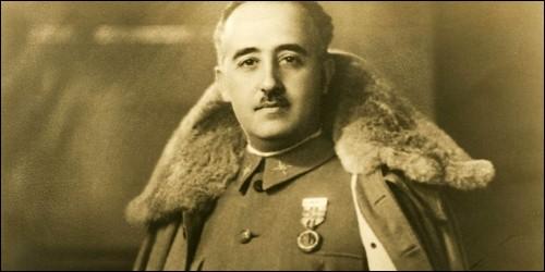 Quel général dirigeait l'Espagne pendant la Seconde Guerre Mondiale ?
