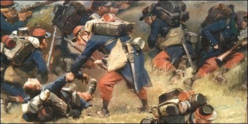 Comment était les casques allemands pendant la Guerre de 1870 ?